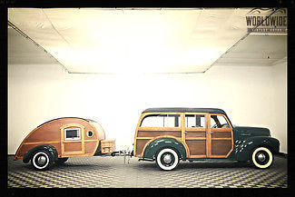 1946 International Harvester Other Woody Wagon w/ Trailer