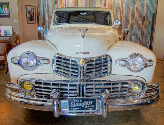 1946 White Lincoln Continental Series H Coupe