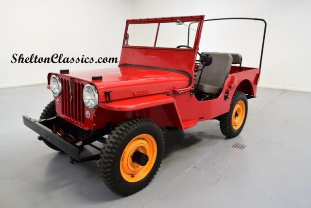 1946 Willys CJ2A Jeep 4x4