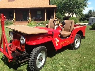 1946 willys jeep and mini pedal car for sale photos technical specifications description. Black Bedroom Furniture Sets. Home Design Ideas