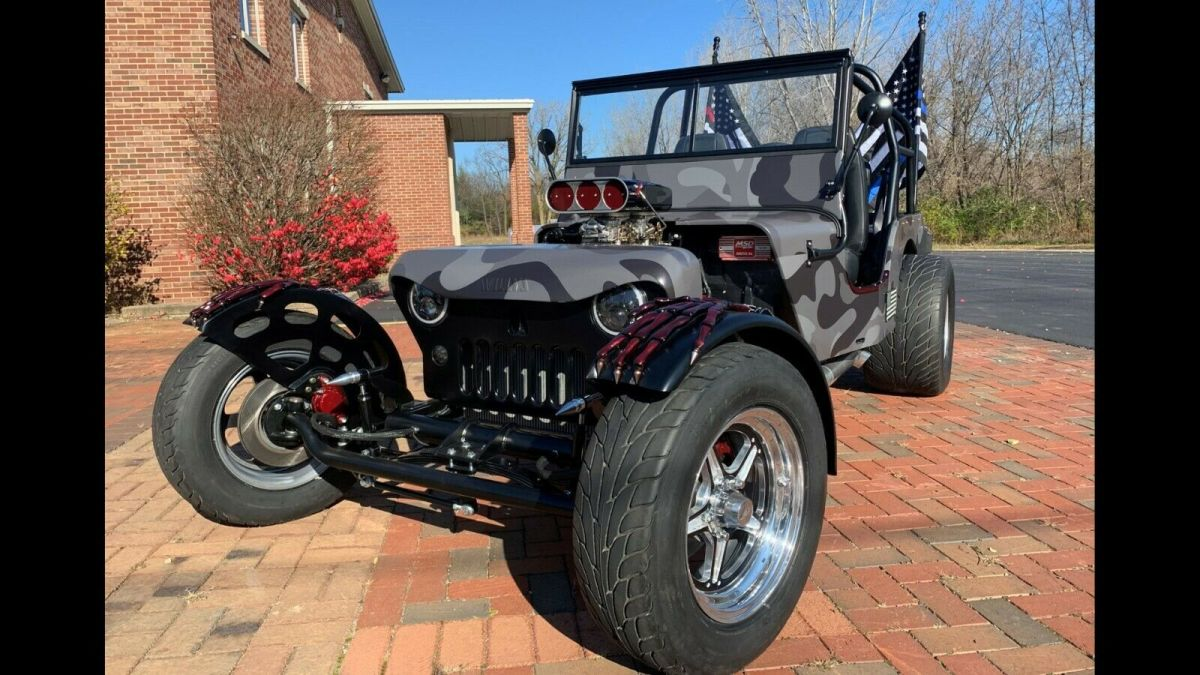 1946 Willys CJ2A Custom