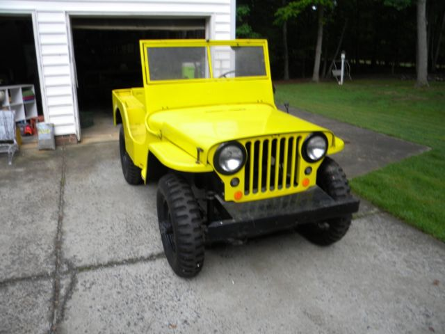 1946 willys jeep (with 1953 CJ3A parts jeep) for sale: photos ...