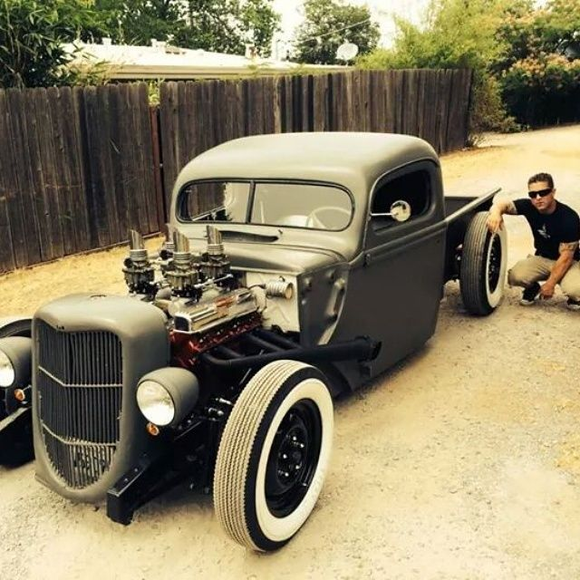 1940 Chevy Truck >> 1947 1946 1942 1941 1940 ford truck pickup hot rod rat rod custom nailhead buick for sale ...