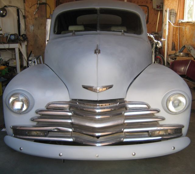 1948 Chevrolet Fleetline Chrome