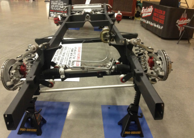 1947 1959 Chevy Truck Chassis With Corvette Suspension For