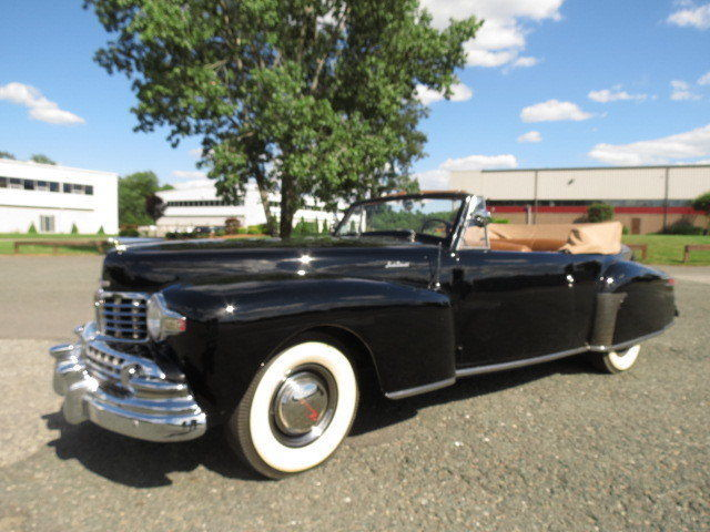 1947 Black Convertible Power Windows Power Top V12 3 Speed Collector Car