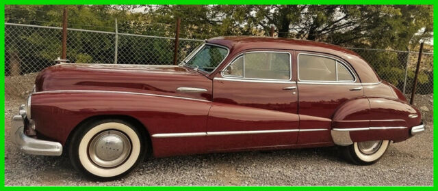 1947 Buick Roadmaster Numbers Matching All Steel No Rust