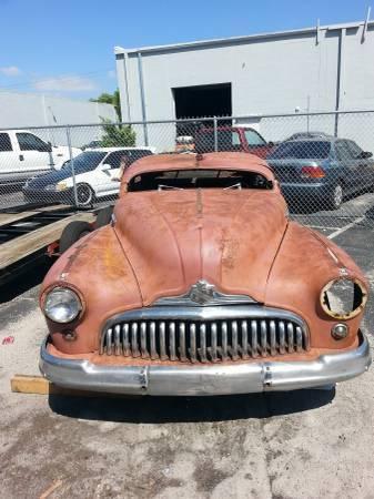 1947 Buick Roadmster Street Rod Rat Rod Hot Rod For