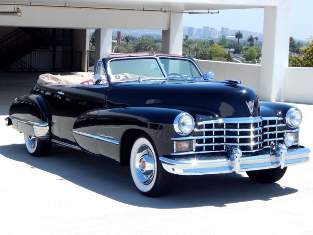 1947 Cadillac Series 62 Convertible Restored Custom Restomod