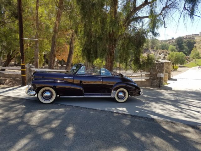 1947 Chevrolet Convertible Cabrilot For Sale Photos