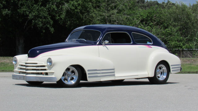 1947 Chevrolet FLEETLINE AERO SEDAN  HOT ROD FLEETLINE AERO SEDAN AWARD WINNER