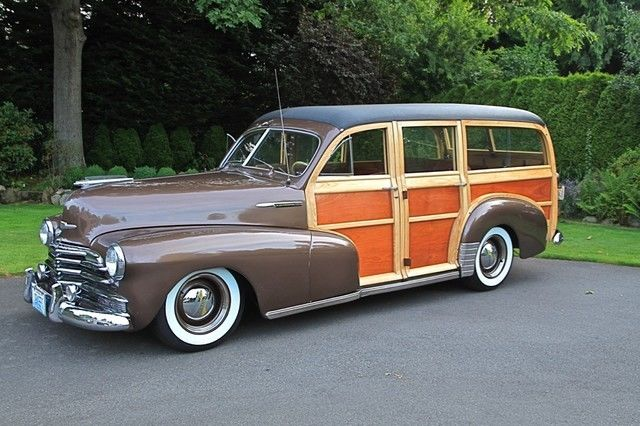 1947 Chevrolet Station Wagon Woodie