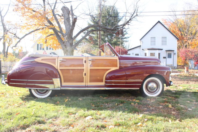 1947 chevy custom 4 door woody convertible for sale photos technical specifications description. Black Bedroom Furniture Sets. Home Design Ideas