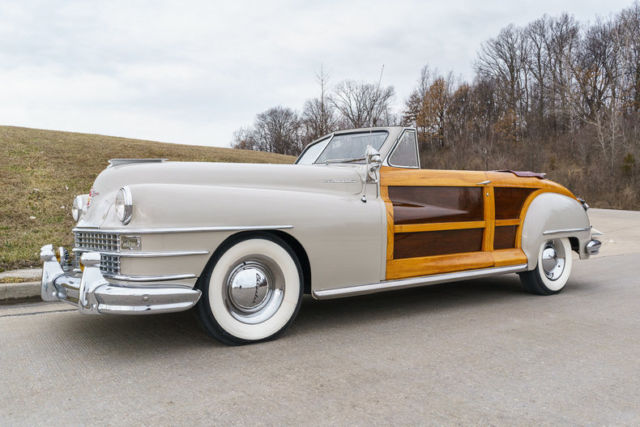 1947 Chrysler Town and Country Convertible