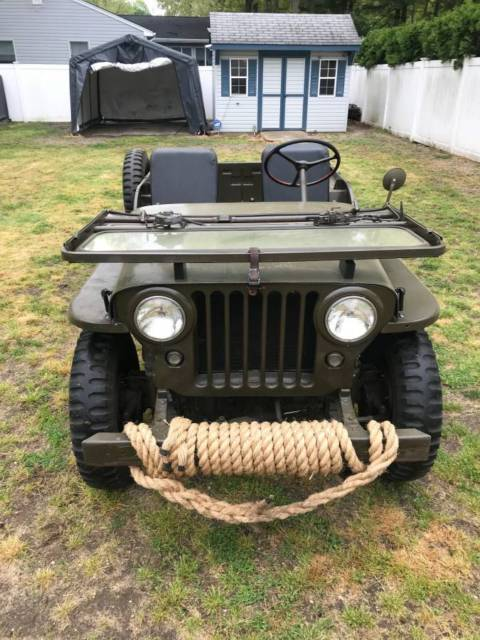 1947 CJ2A Willy Jeep