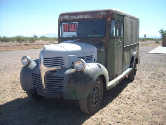 f5bef5fb4b 1947 Dodge 1 ton Herman Bodied Delivery Van for sale  photos ...