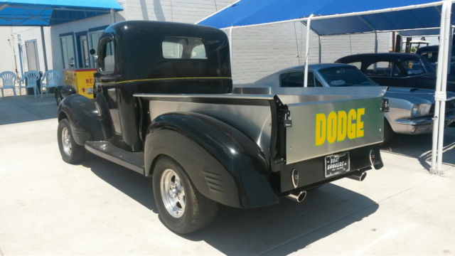 1947 dodge pickup for sale photos technical specifications description. Black Bedroom Furniture Sets. Home Design Ideas