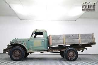 1947 Dodge Power Wagon RARE FIND WDX WITH WINCH