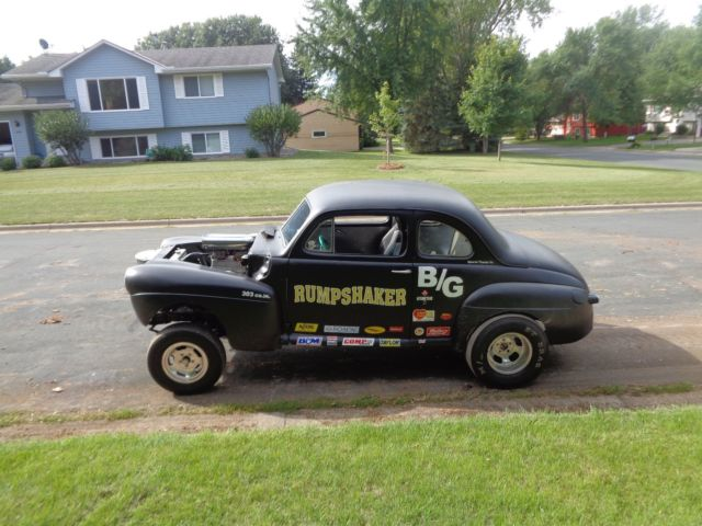 1947 Ford coupe / gasser