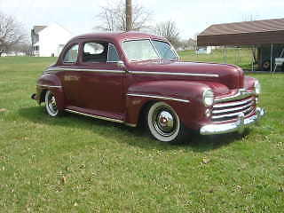 1947 Ford cuope streed rod, hot rod custom