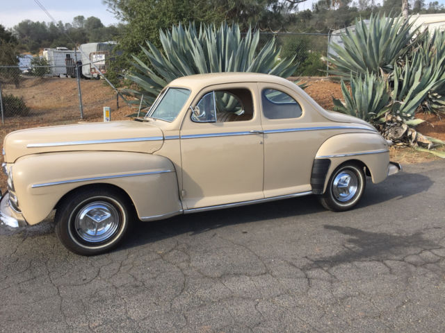 1947 Ford Deluxe Super Deluxe Business Coupe