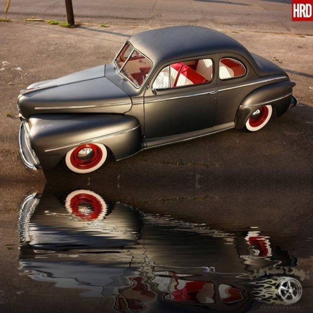 1947 Ford Super Deluxe Hot Rat Street Rod Shaved Hot Rod Street Rat Rod Chopped