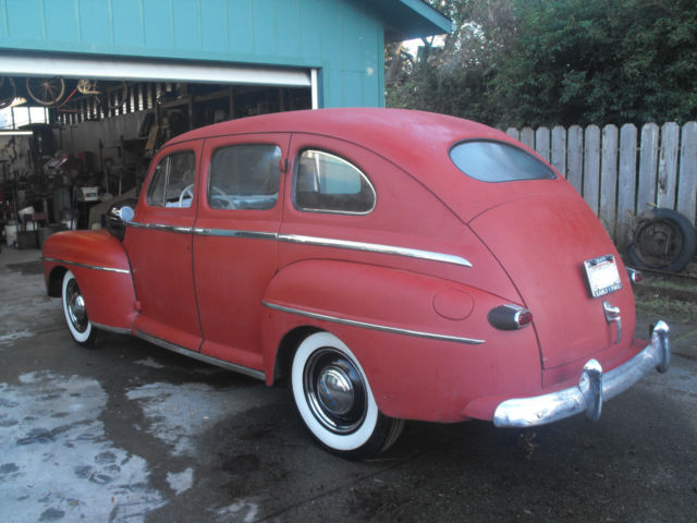 1947 ford sedan project 4 door unfinished reserve only