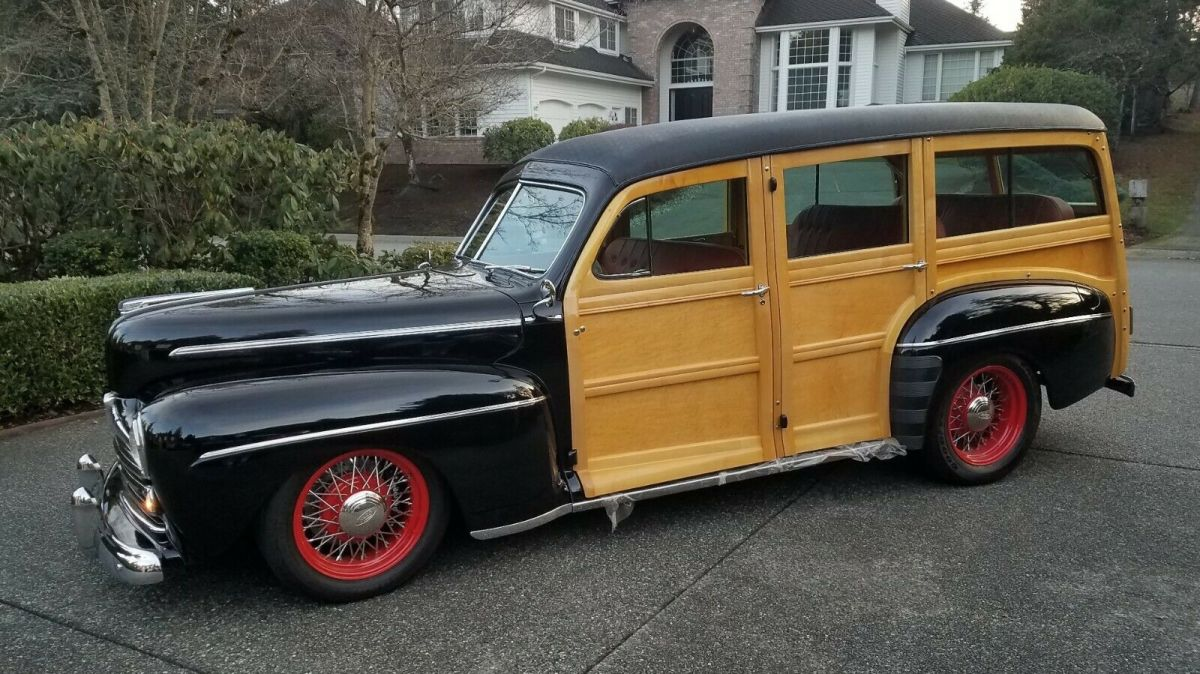 1947 Ford Woodie Deluxe Resto-Rod