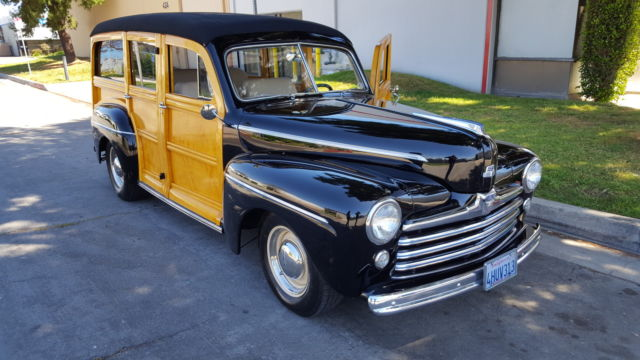 1947 Ford WOODIE WAGON SUPER DELUXE WAGON