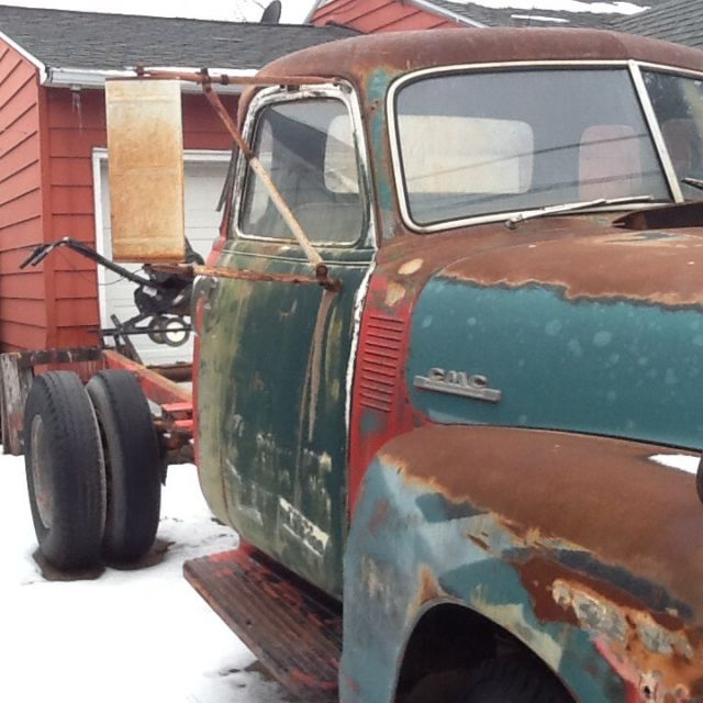 1947 GMC. 5 window 1ton cab and chassis. CALIFORNIA TRUCK. Now in NEW YORK for sale: photos ...