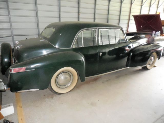 1947 Lincoln Continental 2 Door Coupe V12 Flat Head