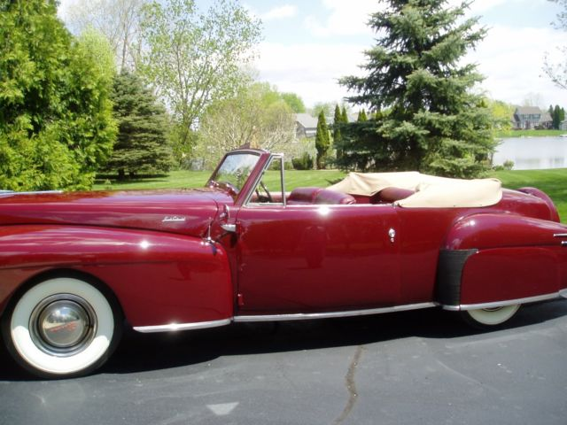 1947 Lincoln Continental continental cabrolet
