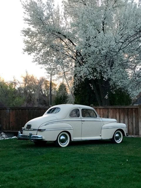 1947 Mercury Coupe Two door coupe