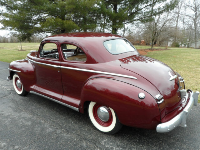 1947 no reserve plymouth special deluxe club coupe for for 1947 plymouth 2 door coupe
