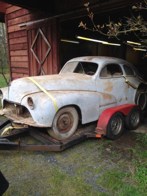 1947 Oldsmobile 2 Door Fastback Coupe 47 46 48 Olds Barn