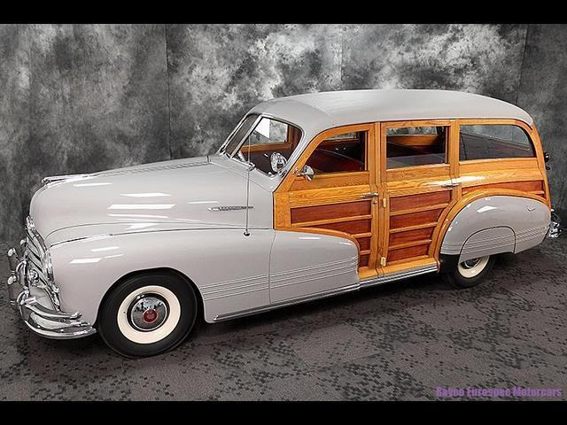1947 Pontiac Streamliner Woodie