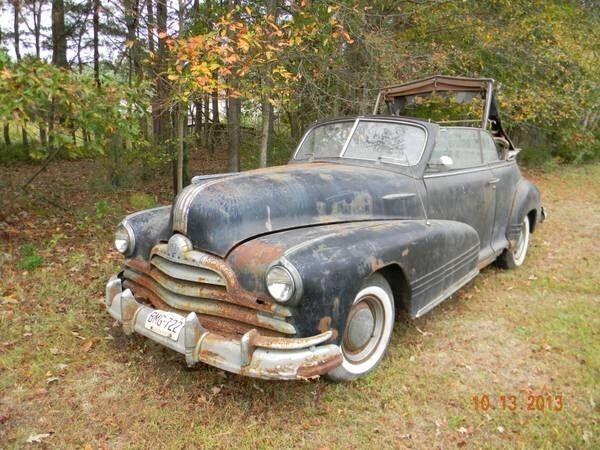 1947 Pontiac Torpedo Convertible For Sale Photos