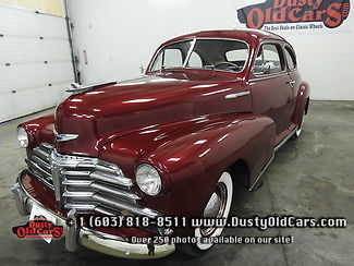1947 Chevrolet Other Runs Drives Body Interior VGood 216V8 Three Tree