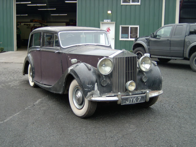 1947 rolls royce silver wraith touring limo for sale. Black Bedroom Furniture Sets. Home Design Ideas
