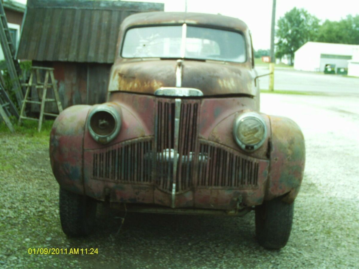 1947 Tan Studebaker Champion Standard Cab Pickup with Brown interior