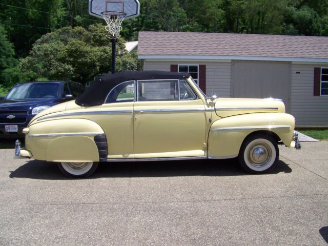 1947 Ford Other SUPER DELUXE CONVERTIBLE