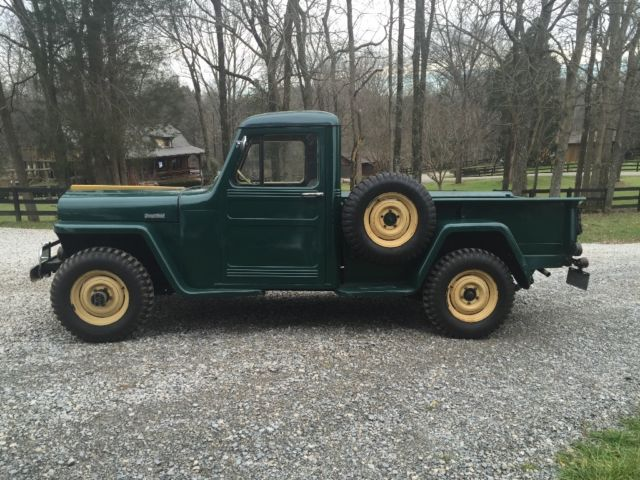 1947 Jeep Truck >> 1947 Willys 4x4 Jeep Truck For Sale Photos Technical