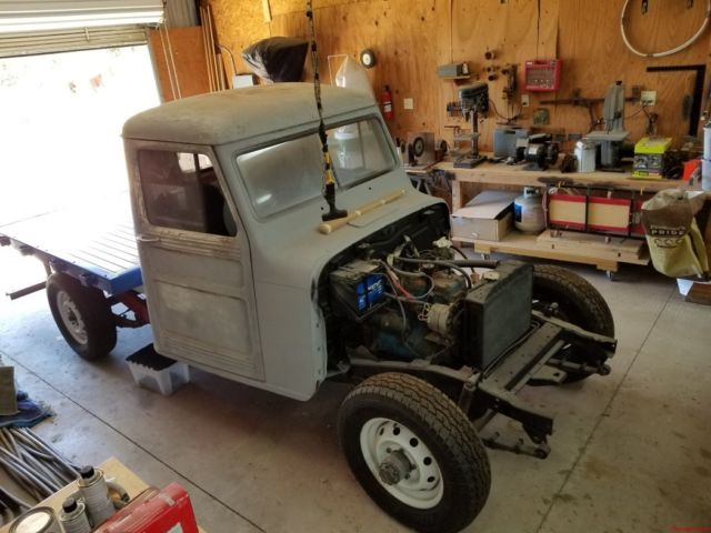 1947 Willys Jeep Truck Flatbed Truck