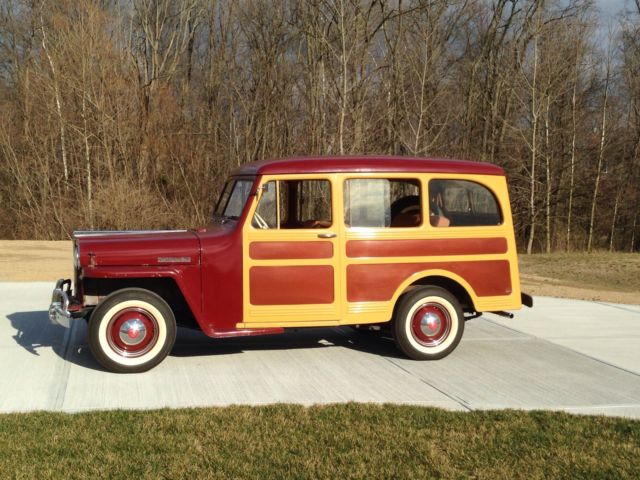 1947 Willys Jeep Station Wagon