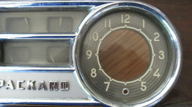 1948 1950 Packard Speedometer Clock And Dash Instrument