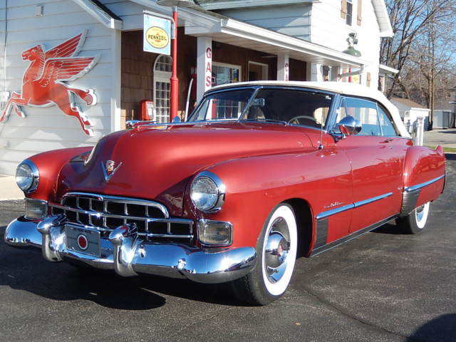 1948 Cadillac Convertible Series 62 2-Door