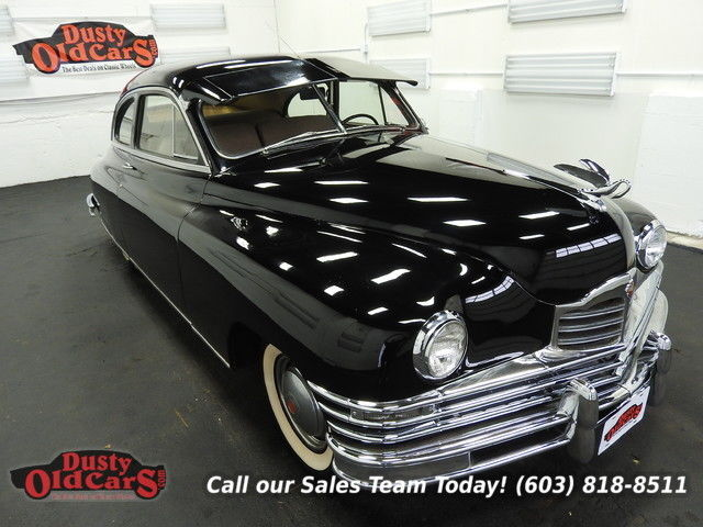 1948 Packard Deluxe Runs Drives Body Inter VGood 288I8 3spd man