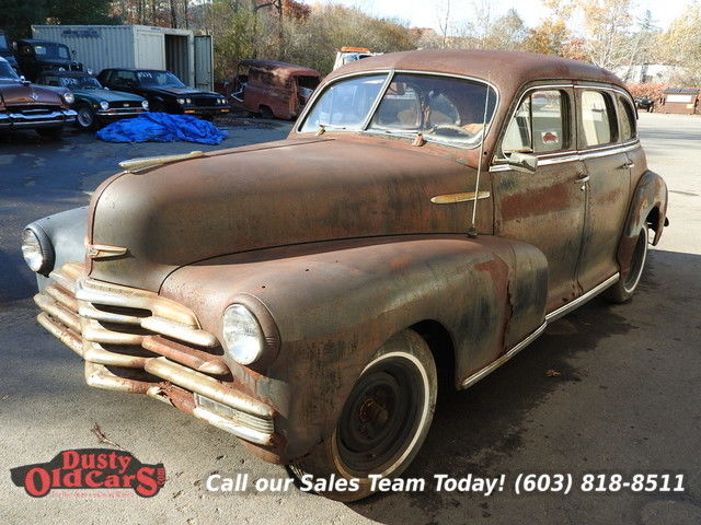 1948 Chevrolet Fleetmaster Project/Parts Car Needs Work