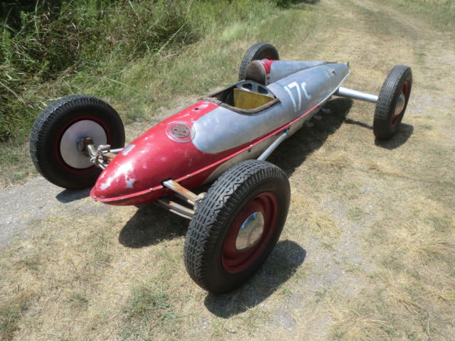 1948 Other Makes BELLY TANK RACER