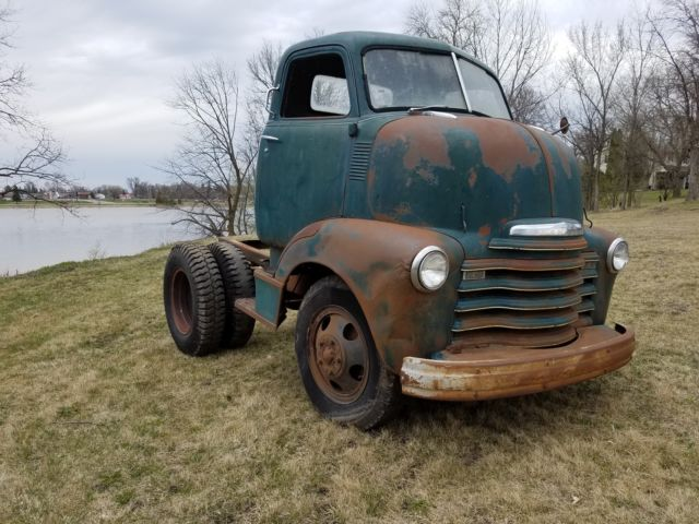 Cabover Trucks For Sale >> 1948 Chevy Coe Cabover Truck Loadmaster Original Patina For Sale